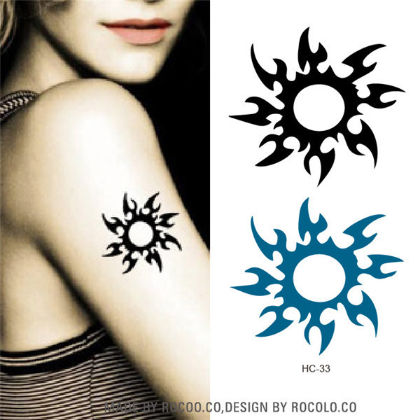 2dc09e36482b7 Waterproof tattoo female neck vine flowers small fresh tattoo designs can  be customized wholesale