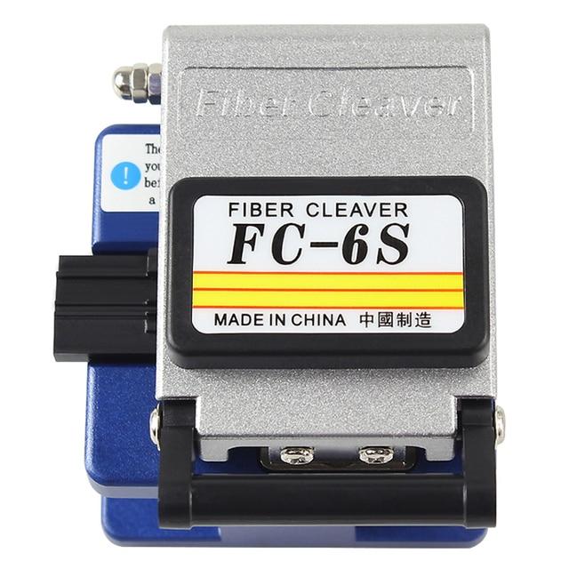 FC 6S Кливер для холодного контакта с 12 лезвиями, металлический материал, FTTH волоконный кабель, резак, нож, инструмент
