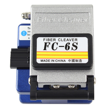 FC 6S fiber cleaver Cold Contact With 12 BladeS FC-6S Metal Material FTTH fiber cable cutter knife cleaver tool