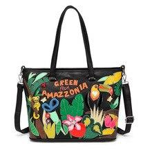 Women bag Oil wax Women's Leather Handbags Luxury Lady Hand