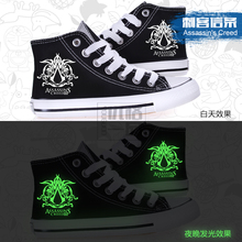 Assassin's Creed Game Peripherals And High Cos Animation Lovers Leisure Shoes Canvas Shoes To Help Students Luminous