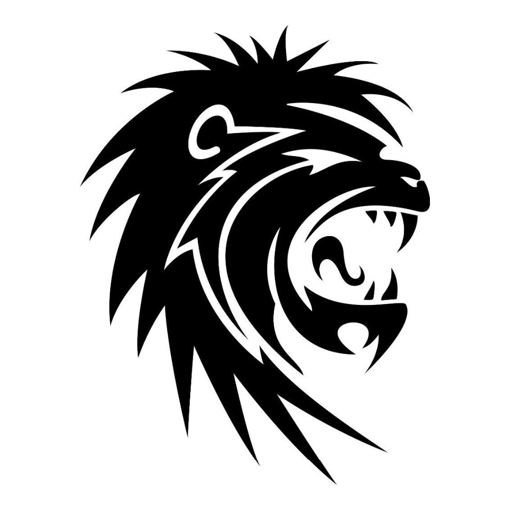 Gambar Singa Hitam Putih Wwwtopsimagescom