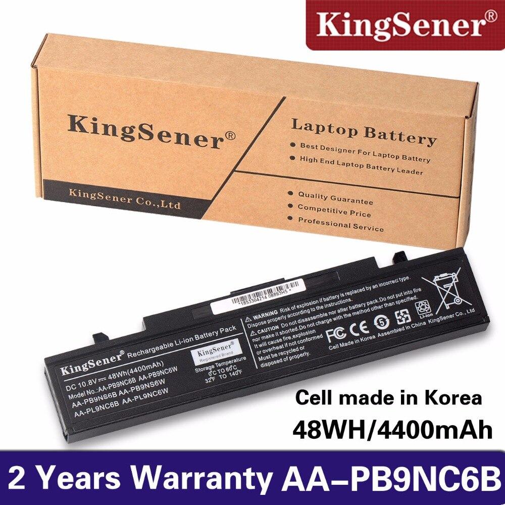 KingSener AA-PB9NC6B Laptop Battery for SAMSUNG R530 R528 R428 R429 R430 R467 R468 R478 AA-PB9NC6W AA-PB9NS6B AA-PB9NS6W стоимость