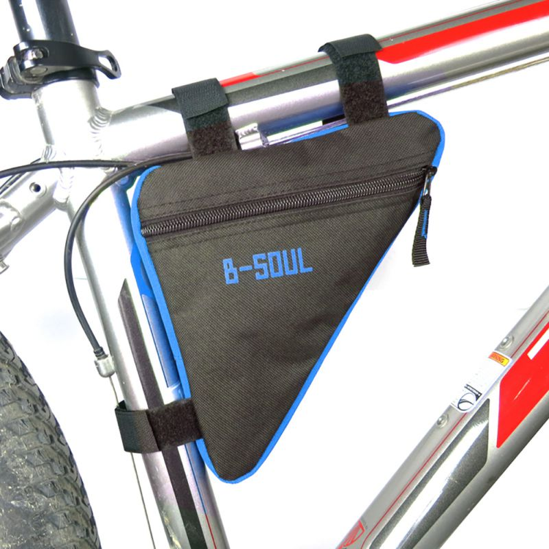 waterproof trianglcycling bicycle bags front tube frame bag mountain triangle bike pouch holder saddle bag bike