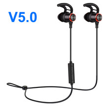 Wireless Headphone Bluetooth Earphone Magnetic Fone de ouvido For Phone Neckband Ecouteur Auriculares Bluetooth V5.0 2018 Newest(China)