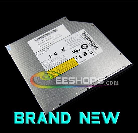 ФОТО New for Lite-On DC-6E2SH 3D 6X Blu-Ray Combo BD-ROM Player 8X DVD RW DL 24X CD Burner Slot-in 12.7mm SATA Optical Drive Case
