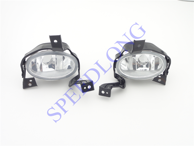 2 Pcs/Pair Without bulbs RH and LH front driving fog lamps light with brackets for HONDA CRV 2010-2011 1pair rh and lh front fog lights bumper driving lamps without bulbs for honda accord sedan 1998 2002