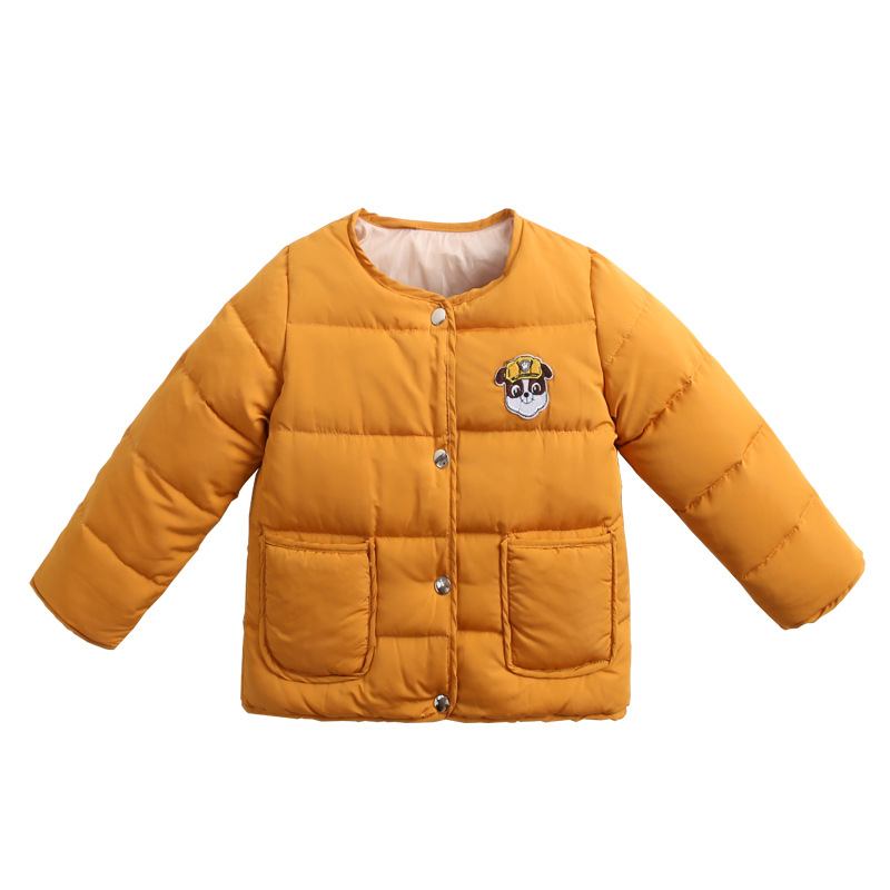 Kids Baby Winter Down Coat Snowsuit 2-7y Children's  Coat & Jacket Outerwear Korea Fashion Kids Boy Girl Cute Dog Print Clothing