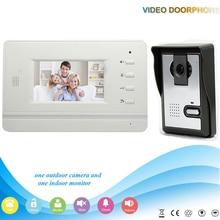 XSL-V43B3-L 1V1 ночного видения с CMOS камера запись мониторы 7 дюйма TFT LCD