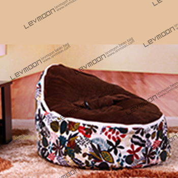FREE SHIPPING baby bean bag with 2pcs coffee cover baby bean bag seat cover baby bean bag chair baby bean bags fabric sofa chair 1 12 scale dollhouse miniature furniture retro european palace bedroom bed 10339