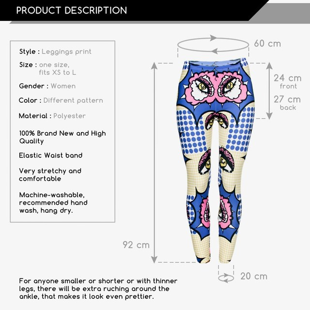 Wholesale Wham Leggings Digital 3D Seam Print Polyester Women Leggings For Fashion Dress