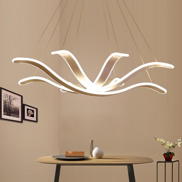 Chandelier Lighting Lustre Led Lamp Modern Hanging Light Fixture ...
