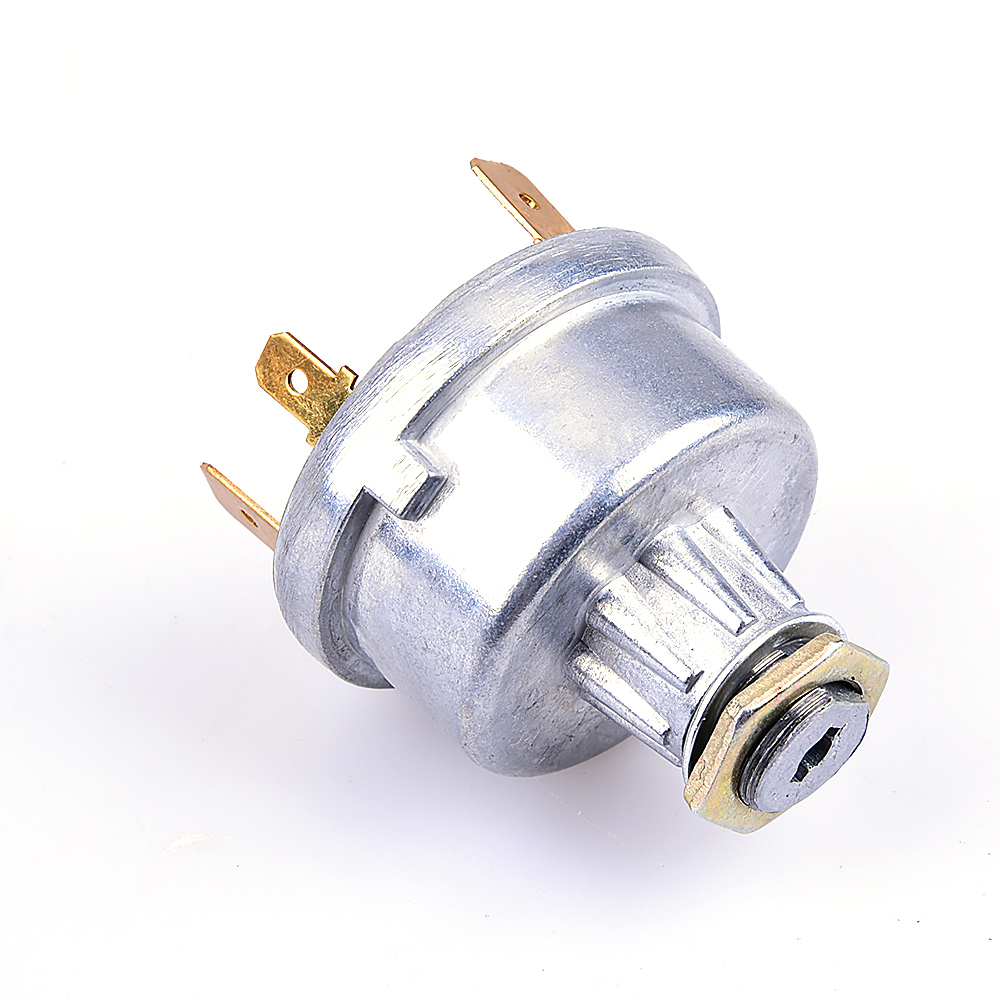 hight resolution of carchet ignition switch starter universal tractor car start lock with 2 key for massey ferguson david brown free shipping