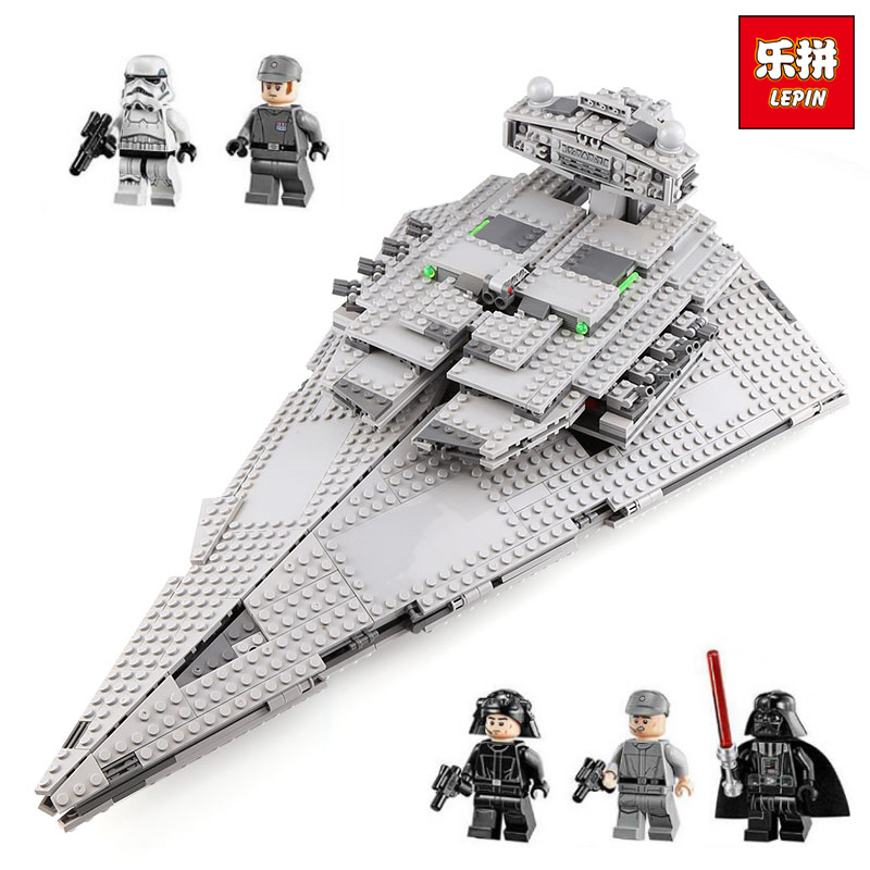 Lepin 05062 Imperial Star toys Kids wars Building Playset Blocks Bricks Educational Toys Compatible with Lego 75055 1391 Pcs автозапчасть original authentic 11