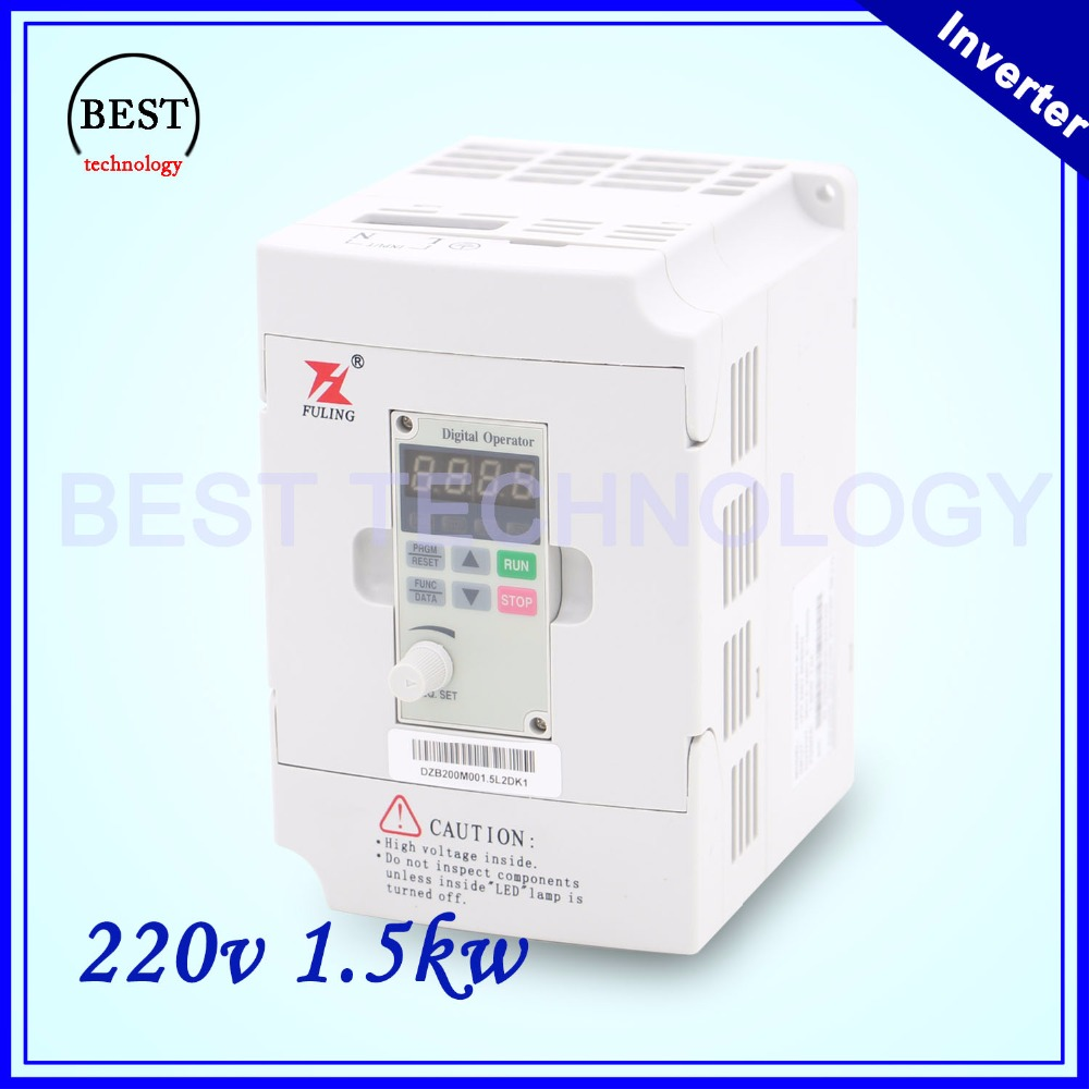 CNC Spindle motor speed control 220V 1.5kw VFD Variable Frequency Drive  Inverter  1HP or 3HP Input 3HP Output for cnc driverl 220v 5 5kw vfd variable frequency drive vfd inverter 3hp input 3hp output cnc spindle motor driver spindle motor speed control