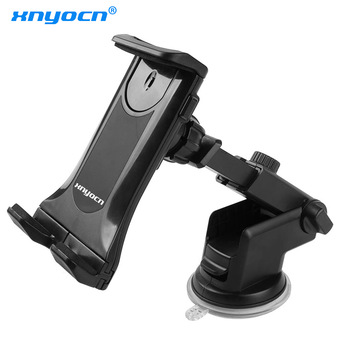 """Large Sucker 360 Rotation 7""""~12.9"""" Car Tablet Holder Mount Stand Stents for IPad Pro Mini 2 3 4 Air 2 Samsung S8 S9 XiaoMi ASUS 1"""