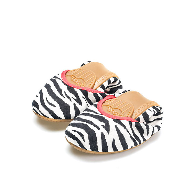 Women's Casual Zebra Striped Shoes