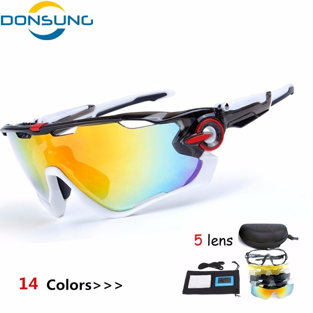 DONSUNG Brand Polarized Cycling SunGlasses Mountain Racing Bike Goggles MTB Bicycle Eyewear Ciclismo Cycling Glasses 2017 New obaolay outdoor cycling sunglasses polarized bike glasses 5 lenses mountain bicycle uv400 goggles mtb sports eyewear for unisex
