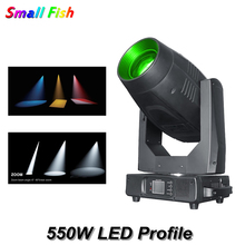 цена на New Professional Stage Moving Head Light 550W LED Profile Framing Beam Spot Wash 4IN1 Moving Head For DJ Disco Party Bar Light