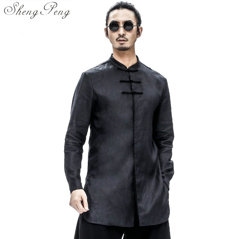 Traditional chinese clothing for men shanghai tang cheongsam top tang suit traditional chinese clothing tangzhuang CC126 chinese clothing care