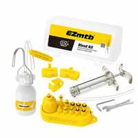 Ezmtb Hydraulic Mineral/ DOT 2 in 1 Brake Bleed Kit for Full Series of Shimano/ Avid Tektro Magura Formula Hayes
