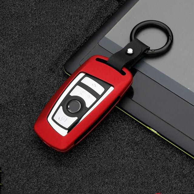 새로운 아연 합금 자동차 원격 키 BMW 520 525 f30 f10 F18 118i 320i 1 3 5 7 시리즈 X3 X4 M3 M4 M5 E34 E36 E90 Keychain