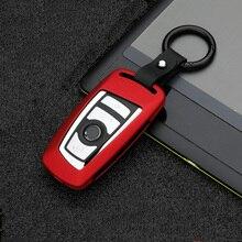 Nouvel alliage De Zinc Clé À Distance de Voiture Housse Pour BMW 520 525 f30 f10 F18 118i 320i 1 3 5 7 Série X3 X4 M3 M4 M5 E34 E36 E90 Porte clés