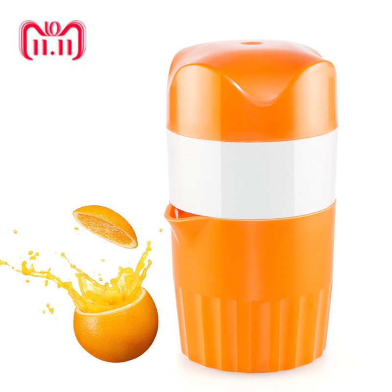 Hand Press Juicer Tool Household Manual Juice Bottle Mini Travel Small Fruit Squeezer Machine Extractor Cup цена