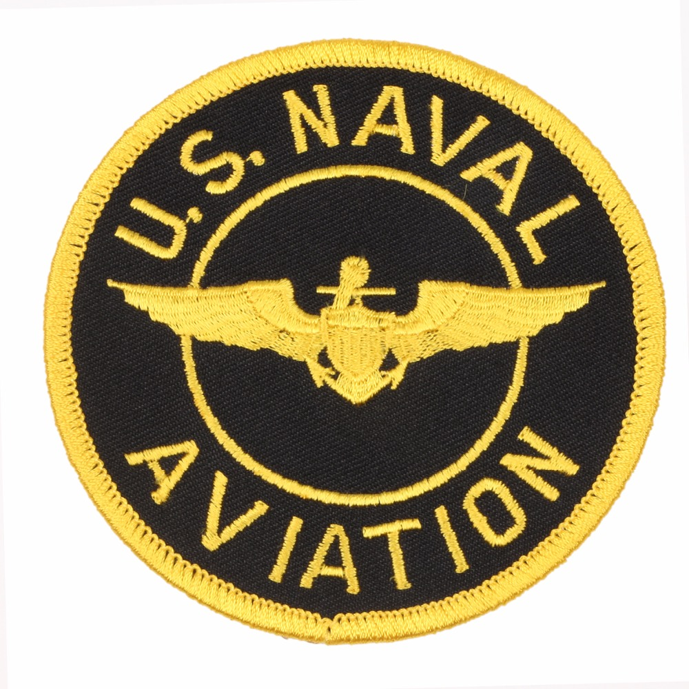 US NAVAL AVIATION EMBROIDERED MILITARY PATCH