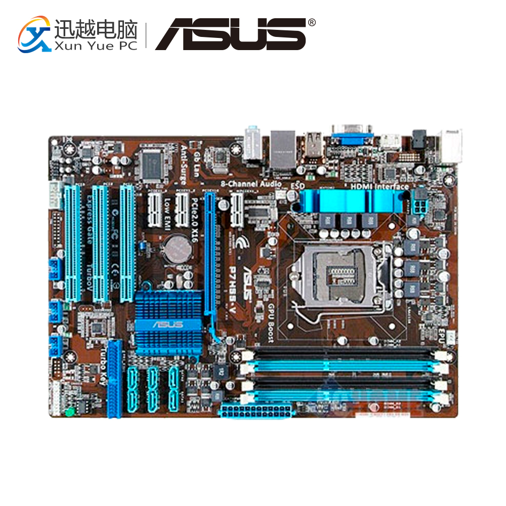 цены Asus P7H55-V Desktop Motherboard H55 Socket LGA 1156 i3 i5 i7 E3 DDR3 ATX On Sale