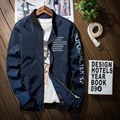 Men Jacket Bomber Thin Slim Long Sleeve O-Neck Collar Spring Autumn Vintage Jackets 2017 Korean Style Army Brand Clothing Coat