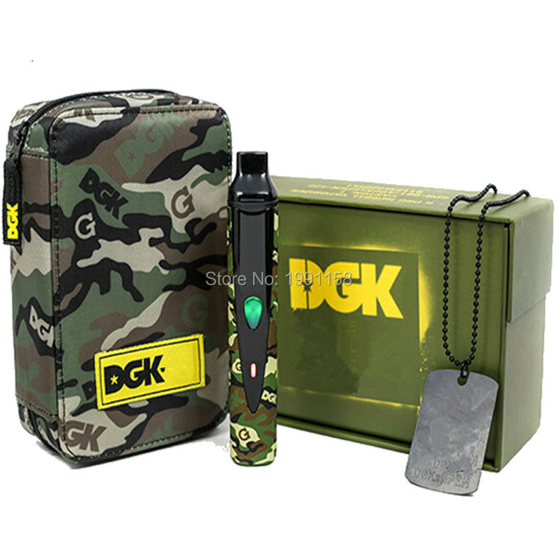 bilder für Snoop Dogg DGK elektronische zigarette kit 2200 mah Thermostat regler batterie DGK Trockenen Kraut Vaporizer Pflanzliche Wachs zigarre vape cigs