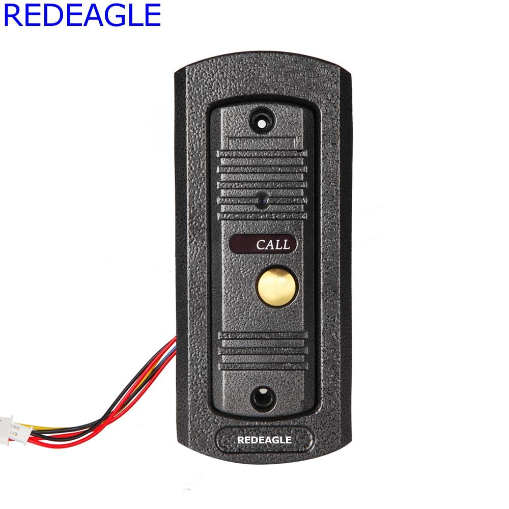 REDEAGLE 700TVL Color Camera outdoor Door Phone Unit Device for Home video door phone intercom Access Kit Part
