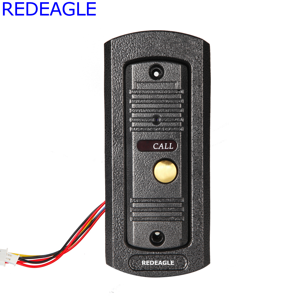 REDEAGLE 700TVL Color Camera outdoor Door Phone Unit Device for Home video door phone intercom Access Kit Part