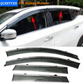 Car Stylingg Awnings Shelters 4pcs/lot Window Visors For Nissan Murano 2011-2016 Sun Rain Shield Stickers Covers