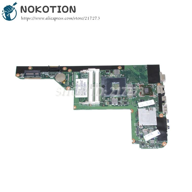 NOKOTION 628186-001 For HP DV3-4000 DM4 CQ32 G32 Laptop Motherboard HM55 DDR3 HD5430 Video card