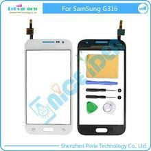FLPORIA Nueva Pantalla Táctil Digitalizador Para Samsung Galaxy Ace 4 Neo G316 Sensor de Pantalla Táctil Panel Táctil Con Herramientas Libres