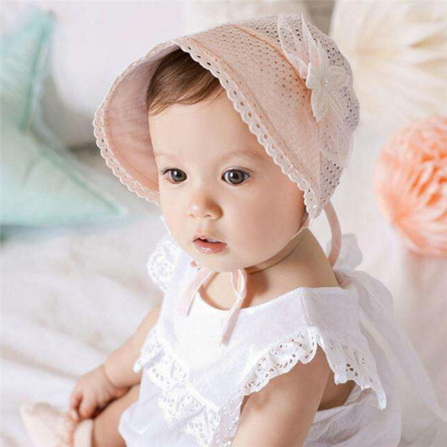 Cute baby girl with cap