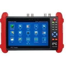IPC9800 Series 7 Inch CCTV Tester Monitor IP Analog Camera Tester WIFI Onvif PTZ Control POE 12V Output