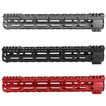 CNC Ultra lightweight Tactical 7.25 10.2 12.6 Handguard Rail Picatinny for Airsoft AEG
