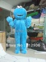 2017 Nouveau Costumes De Mascotte Pour Adultes Noël Halloween Outfit Fancy Dress Costume Livraison Gratuite Elmo Bleu Sesame Street