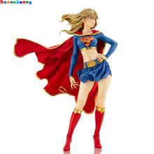 21CM DC Comics Bishoujo Statue Supergirl Returns Action Figure Toy with box Collection Model Brinquedos Figurals Gift