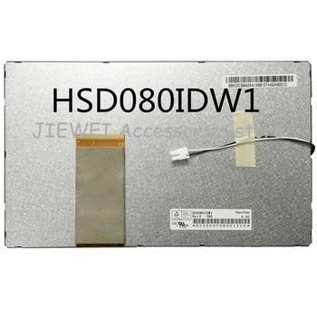 Original 8 pantalla lcd HSD080IDW1-A00 A01 C00 C01 dvd portátil coche pantalla para dvd