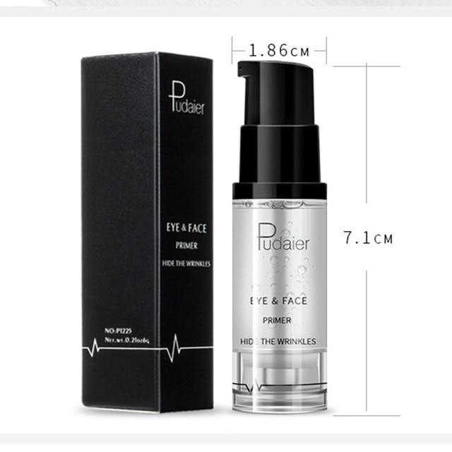 New Makeup Brand Pudaier Easy to Wear Liquid Primer for Face Eye Makeup Moisturizer Brighten Base Primer Cosmetics 4