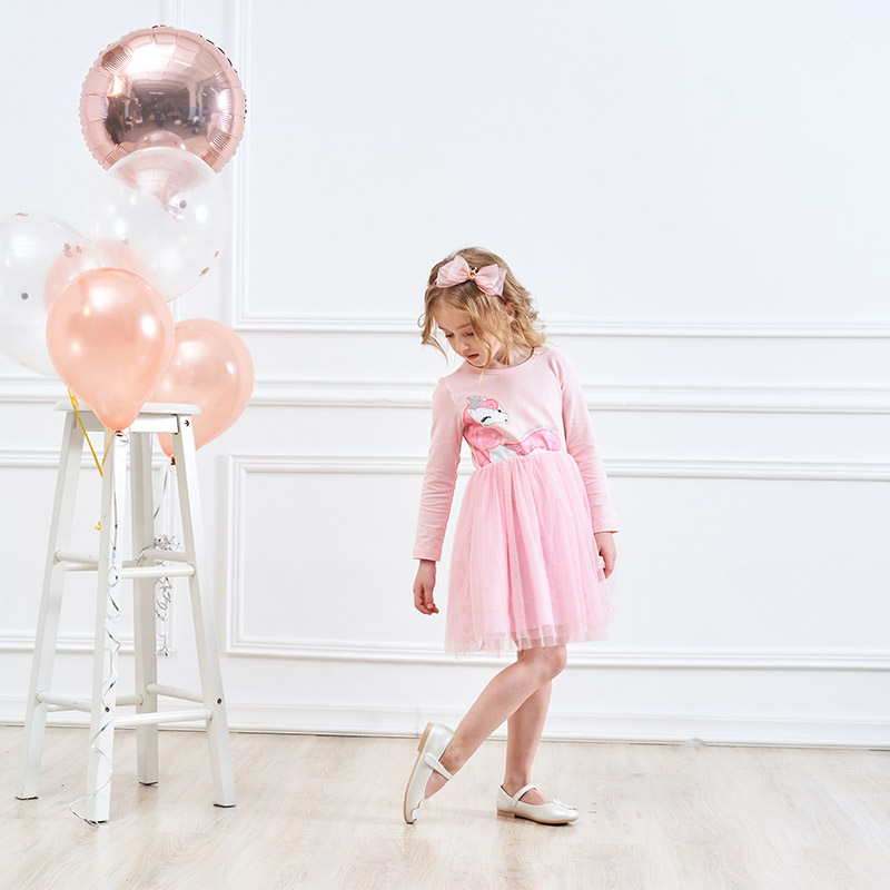 HTB1RuyEQQzoK1RjSZFlq6yi4VXaG DXTON 2018 New Girls Dresses Long Sleeve Baby Girls Winter Dresses Kids Cotton Clothing Casual Dresses for 2-8 Years Children
