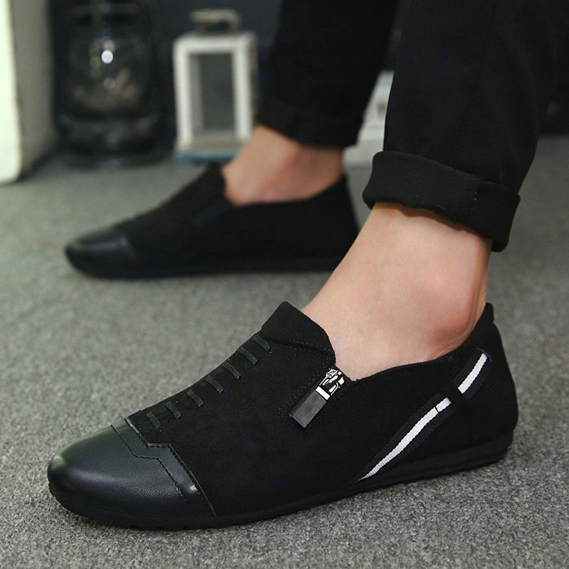 Men Loafers Summer Cool  Men's Flats Shoes