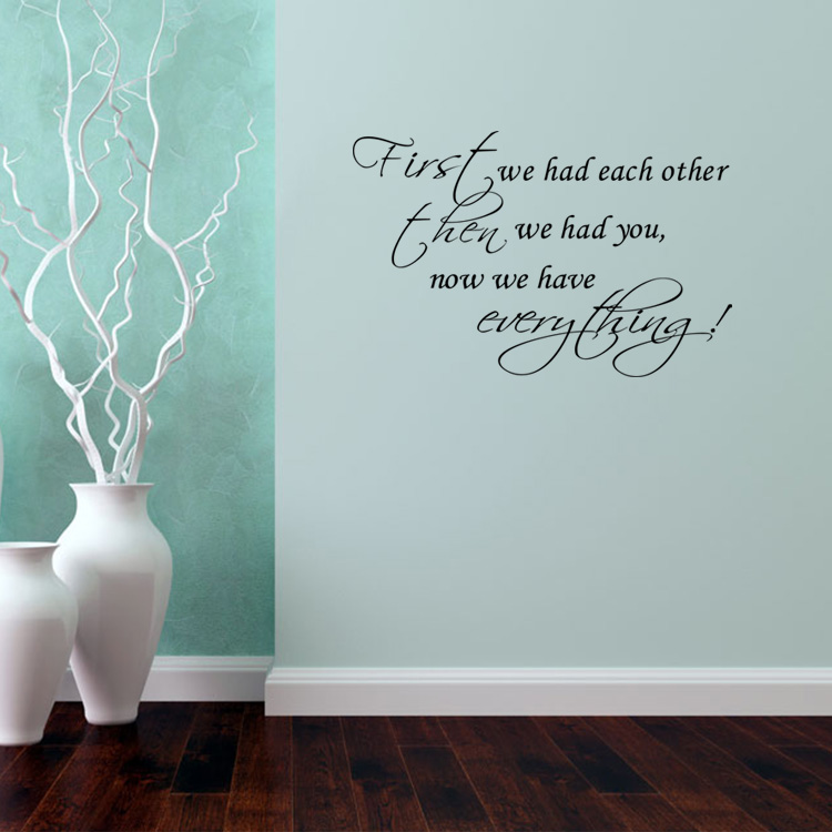Living Room Sayings online buy wholesale family vinyl wall quotes from china family