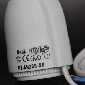 Image 2 - Per Collettore in Underflooring Sistema di Riscaldamento 230V Normalmente Aperto Tipo Termico Attuatore Elettrico