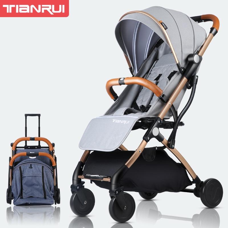Original Yoya bébé poussette chariot voiture chariot pliant landau Bebek Arabasi Buggy léger landau Babyzen Yoyo poussette