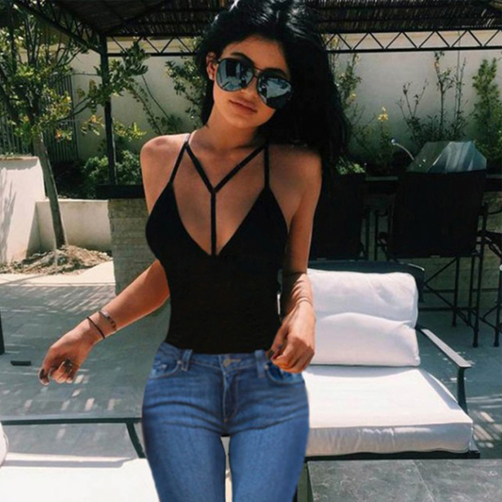 New Fashion Casual Style Women Tops Sexy Camisoles Vest For Ladies Black/White